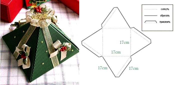 Картонное изделие маленького размера может вместить в себя небольшой и ценный подарок