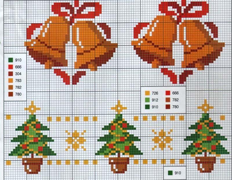Игрушки делают набивными, вышивая сначала на каждой половинке, а затем сшив их изнаночными сторонами вместе