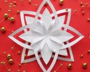 Снежинки и звёздочки из бумаги к Новому году