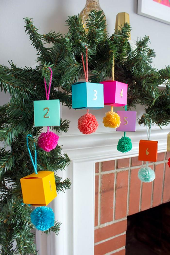 И декоративное украшение, и коробочки с подарками