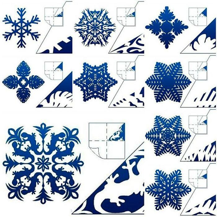 Если воспользоваться резаком, то снежинки получатся изящнее и аккуратнее