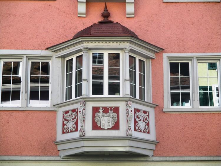 Внешний вид эркера с фасада