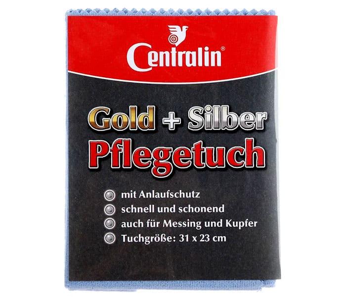 Хлопковая салфетка Centralin чистит золото и серебро