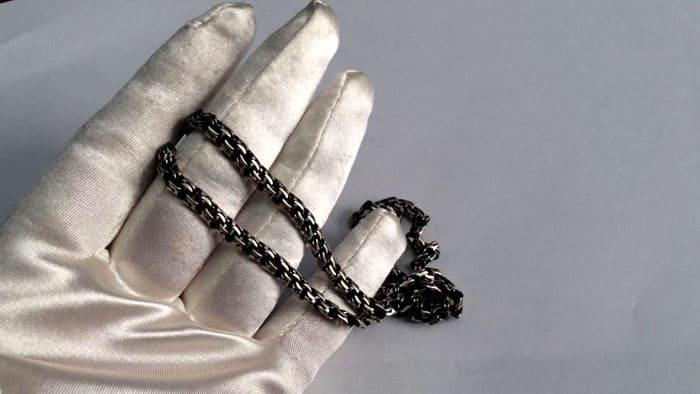 Чернёное серебро в домашних условиях очищают содой