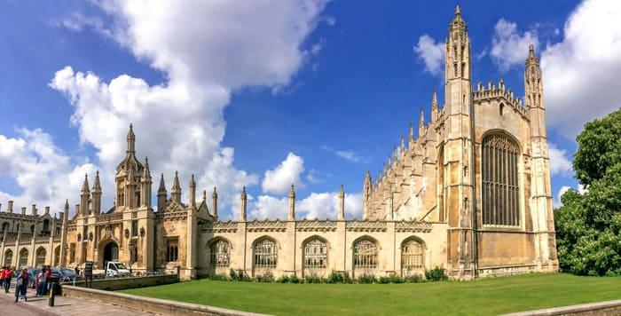 Примером перпендикулярного стиля считается часовня королевского кембриджского колледжа (1441-1515 гг.)