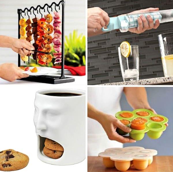 Кухонные аксессуары могут быть полезными в разных направлениях: это и подогрев печенья, и приспособления для сушки фруктов, и разные формочки