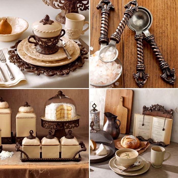 Любители утончённого сервиза могут озаботиться поиском подходящего для своих приёмов пищи. В таких сервизах предусмотрено всё: от солонок и ложечек, до заварочных чайников. Истинное украшение стола