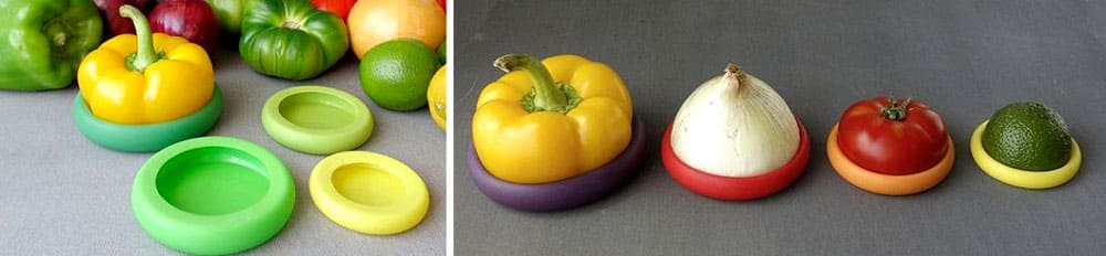 Сегодня недоеденные фрукты и овощи уже не прячут в пакеты: зачем, если есть такие красивые формы с яркими крышками? И сразу понятно, что будет обнаружено под крышкой