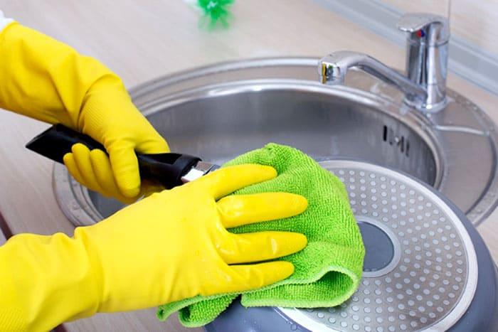 На «отлично» работает четверть куска хозяйственного мыла