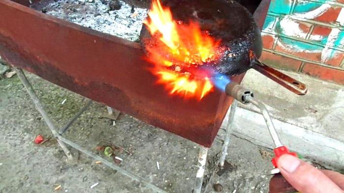 Огонь – верный помощник