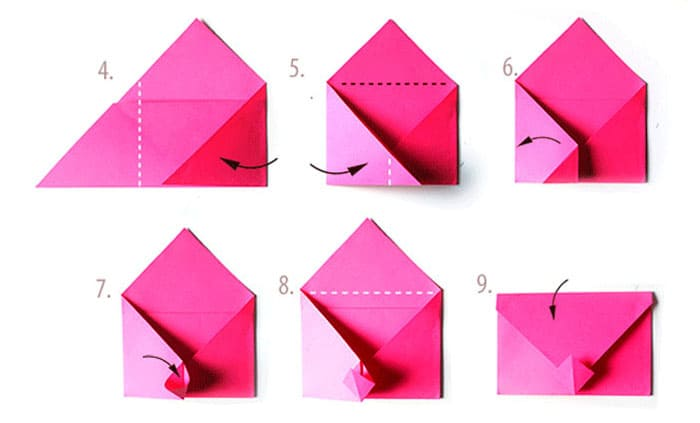 kak-sdelat-konvert-iz-lista-a4-15 Как сделать конверт из бумаги А4 своими руками для письма