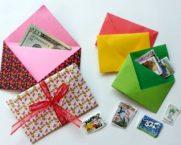 Как сделать конверт из листа А4