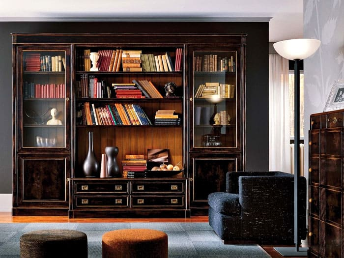 Для дома хотят выбрать лучшее. Многие ищут книжные шкафы и библиотеки из массива дерева