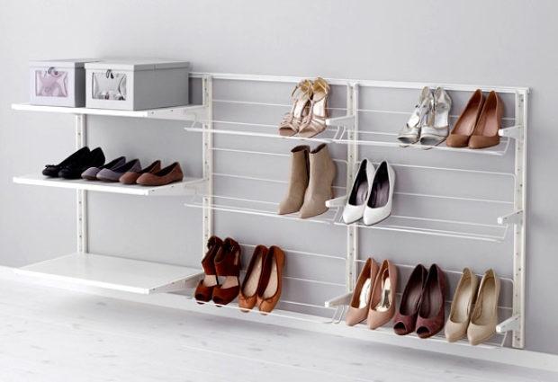 Полка для обуви: лучшие идеи