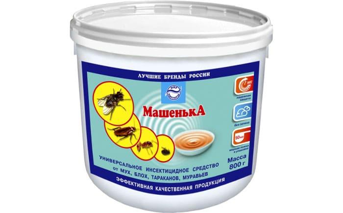 Самым известным и действенным препаратом в гранулированном виде является российская «Машенька»