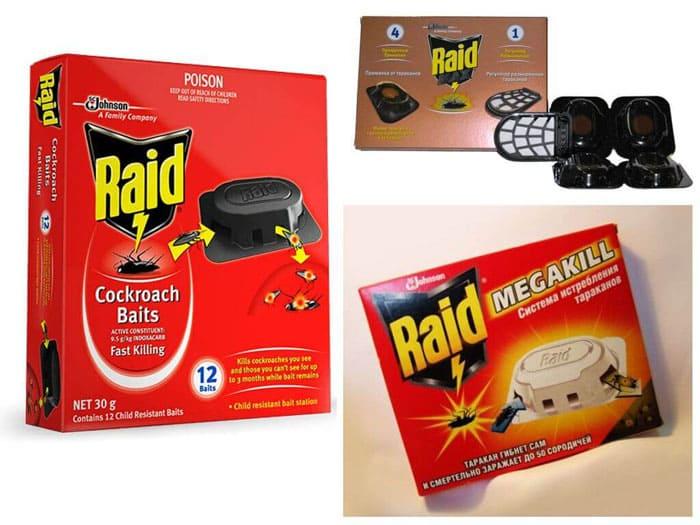 «Рейд» буквально зовёт тараканов в гости