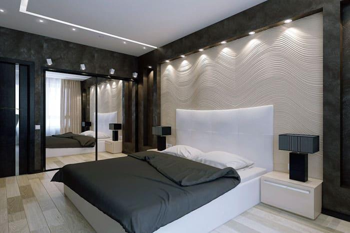 При отделке стен уделяют внимание текстуре и фактуре