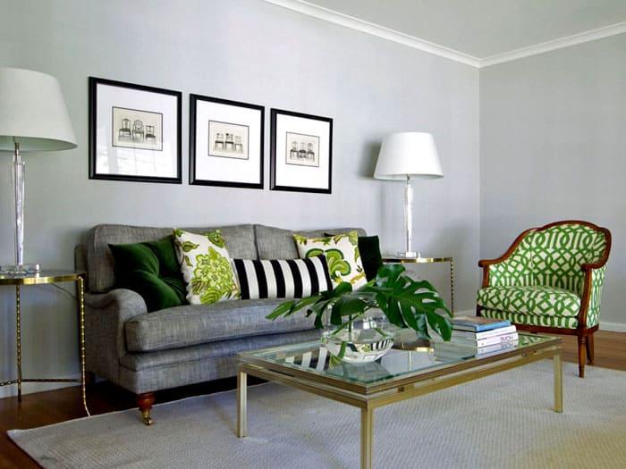 Серый цвет служит идеальным фоном для любого другого. Это своеобразный холст для ярких красок