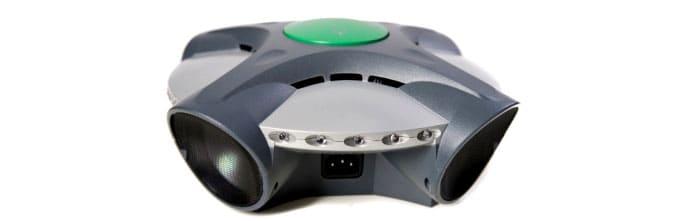 Сигнал действует на 360º и отправляется четырьмя разнонаправленными излучателями