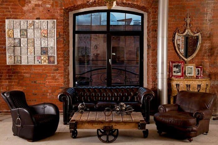 Мебельный гарнитур может выглядеть очень роскошно, с характерными нетривиальными элементами простого декора. Это неяркие, а натуральные цвета, не кричащие, а благородные