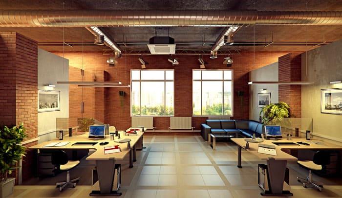 Место для отдыха клиентов и персонала расслабляет и позволяет прийти к разумному решению или соглашению. Неброский интерьер и ненавязчивый дизайн в кирпичной отделке