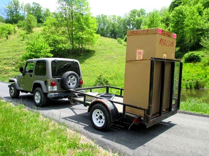 Когда агрегат установлен в кузове машины, нужно зафиксировать его с помощью растяжек и распорок
