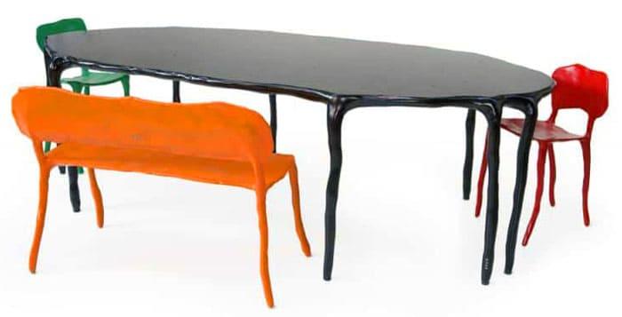 Мебель может выглядеть весьма креативно