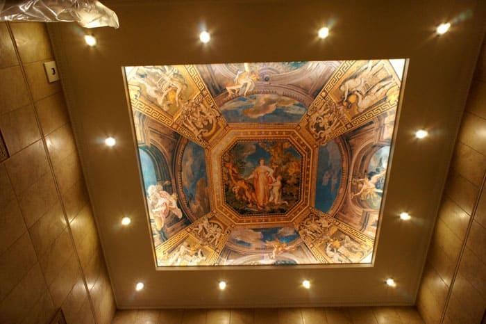 Для каждого интерьера можно подобрать свой цвет потолка