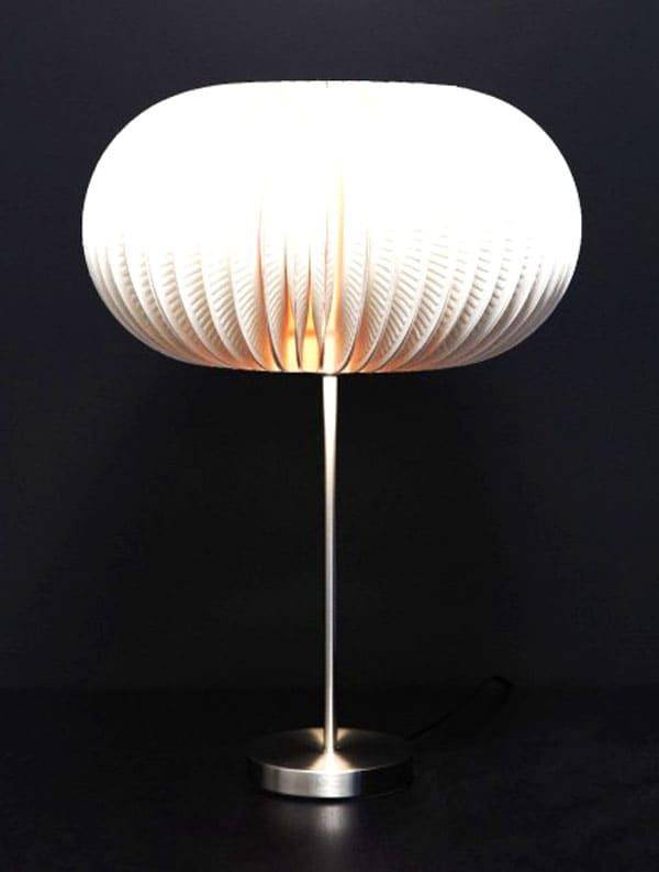 Такой абажур хорош как торшер, люстра, и как настольная или подвесная лампа