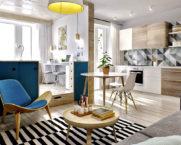 Дизайн квартиры-студии: тренды