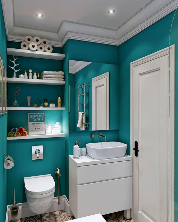 Внешний облик ванной комнаты обязательно повторяет стиль всего жилища