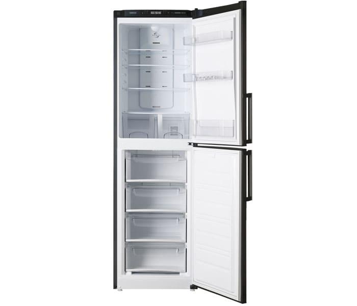 Высокие модели сконструированы так, что в верхней части располагается холодильная камера, как самая «часто посещаемая»
