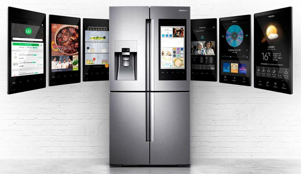 Очень часто можно встретить холодильники с дистанционным управлением через смартфон