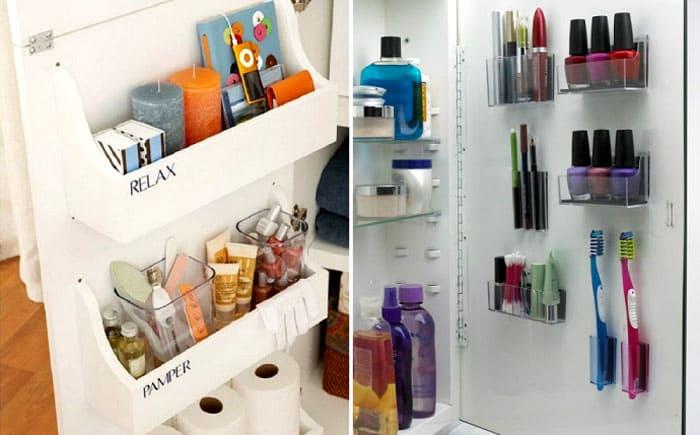 В шкафчике в ванной обычно мало места. То ли производители экономят на материале, то ли дизайнеры у них не совсем креативные. Приходится дополнять всё самим