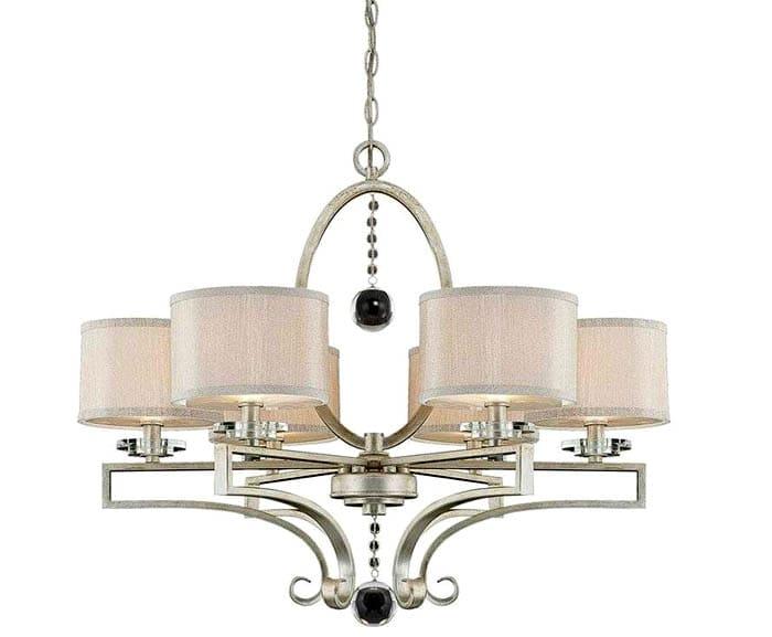 Подвески в виде стеклянных шаров смотрятся стильно, сама модель выглядит аристократично и подходит под классику, модерн, винтаж