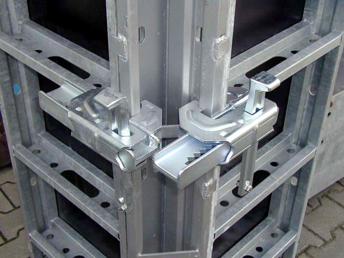 Крепёжные элементы алюминиевой опалубки