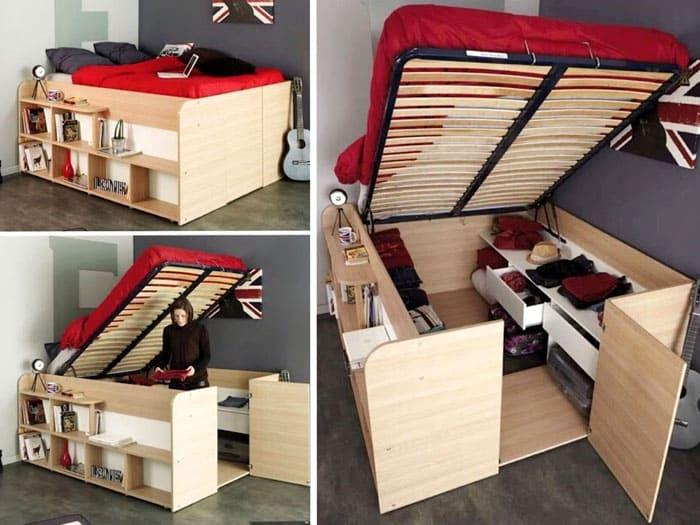 Подъёмный механизм для кровати: виды