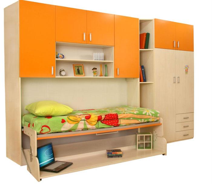 Боковой подъёмный механизм для детского шкафа-кровати