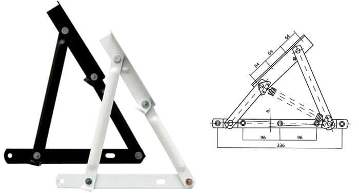 Современные ручные подъёмники разрабатываются таким образом, чтобы впоследствии на них можно было установить компенсационную пружину или газовый лифт
