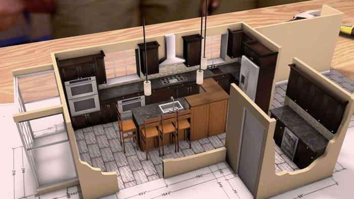 Sweet Home 3D позволяет создавать отличные визуальные образы интерьеров