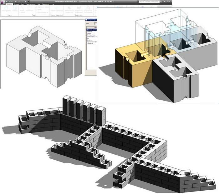 В Revit можно создавать проекты любой сложности