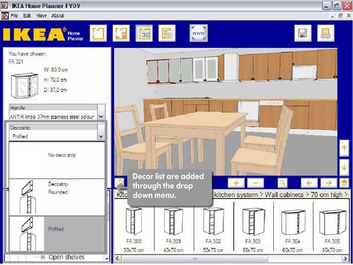 ИКЕЯ позволяет посмотреть в режиме онлайн, как будет выглядеть их мебель на кухне