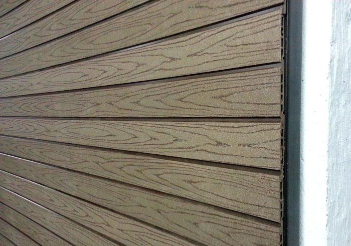 Сайдинг из ДПК древесно-полимерного композита
