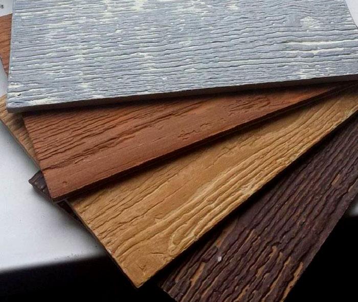 Панели из керамического сайдинга отличаются высокой степенью имитации натуральной древесины