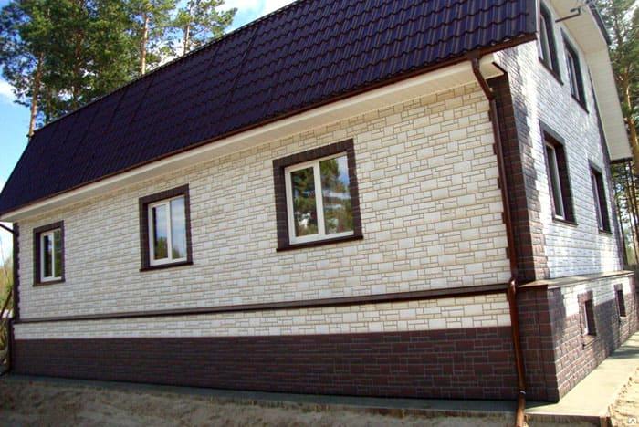 """Фасадные панели Дёке Бург, коллекция """"Белый камень"""""""