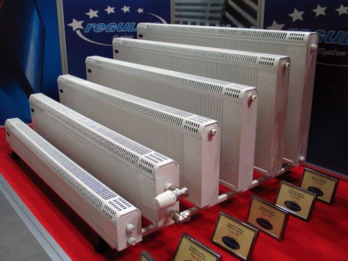 Анодированные радиаторы также могут выпускаться в виде панелей, имеющих довольно широкий выбор типоразмеров