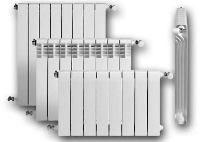 Алюминиевые радиаторы реализуется в широчайшем диапазоне типоразмеров. Кроме того, можно самостоятельно добавлять и убирать секции, оптимизируя теплоотдачу батареи