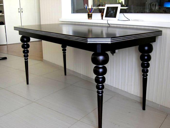 Красивые опоры для столика!