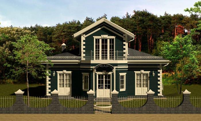 Получается дополнительное и практичное украшение архитектурной формы