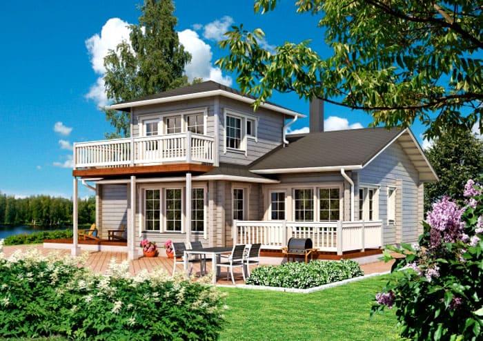 Как легко сделать одноэтажный дом с дополнительной площадью без строительства второго этажа. Получается в разы красивее